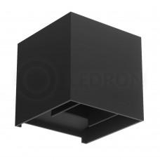 Настенный светодиодный светильник LeDron BCS-WL2027B LED 2*3 Вт 3000К Черный