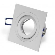 Светильник встраиваемый LeDron AO10421 GU10 50 Вт Белый