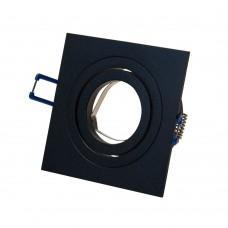 Светильник встраиваемый LeDron AO10427-Bl GU10 50 Вт Черный