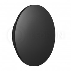 Настенный светодиодный светильник LeDron GW-8663/24 BLACK LED 12 Вт 3000К Черный порошковое покрытие