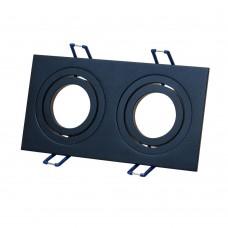 Светильник встраиваемый LeDron AO11823 Black GU10 50 Вт Черный