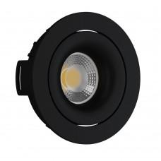 Светильник встраиваемый LeDron DE 200 black GU10 50 Вт Черный