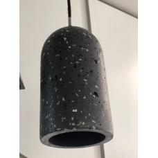 Светильник лофт LeDron CAPP TBP E27 Черный с белыми краплениями