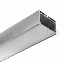 Профиль подвесной/накладной LeDron 13172 с экраном 2500*49*32мм