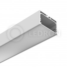 Профиль подвесной/накладной LeDron 13172(W) Белый с экраном 2500*49*32мм