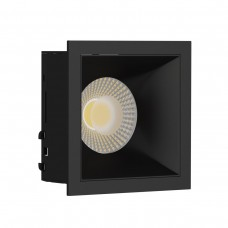 Светильник встраиваемый LeDron RISE KIT 1 Black GU10 50 Вт Черный/Черный