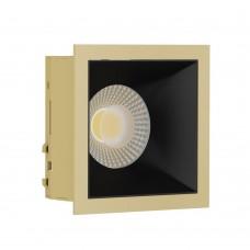 Светильник встраиваемый LeDron RISE KIT 1 Gold/Black GU10 50 Вт Золото/черный