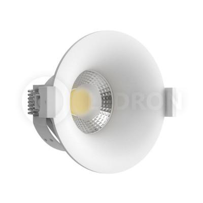 Светильник встраиваемый LeDron MJ1003GW GU10 50 Вт Белый порошковое покрытие