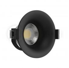 Светильник встраиваемый LeDron MJ1003GB GU10 50 Вт Черный порошковое покрытие
