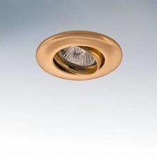 Встраиваемый светильник Lightstar LEGA LO ADJ 011052