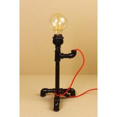Настольная лампа в стиле Лофт LOFT HOUSE Т-107 темно-коричневый металлик