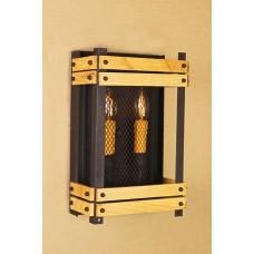 Бра в стиле Лофт LOFT HOUSE W-109 темно-коричневый металлик