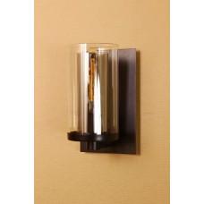 Бра лофт LOFT HOUSE W-115 черный, прозрачный