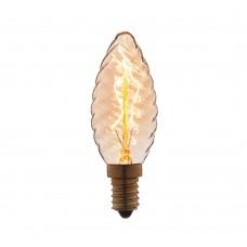 Ретро лампа Эдисона (Свеча витая) Loft IT 3560-LT E14 60W 220V