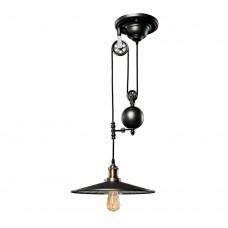 Светильник лофт Loft IT LOFT1832C-1 Чёрный дымчатый