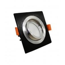 Встраиваемый точечный светильник Lumina Deco Luka LDC 8062-L90 BK+SL