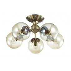 Потолочная люстра Lumion 3059/5C бронзовый/стекло E14 5*40W 220V PALLA