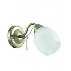 Бра Lumion 3145/1W бронзовый/стекло/декор.цепочки E27 60W 220V VERONICA