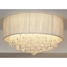 Потолочная люстра Lussole LSC-9507-10 Appiano, 10 ламп, хром, кремовый