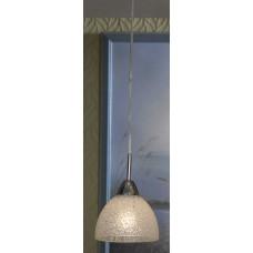 Подвесной светильник Lussole LSF-1606-01 Zungoli, 1 плафон, хром