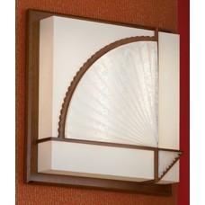 Потолочный светильник Lussole LSF-9002-02 Barbara, 2 лампы, орех, белый