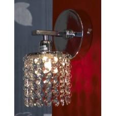 Хрустальное бра Lussole LSJ-0401-01 Monteleto, 1 лампа, хром