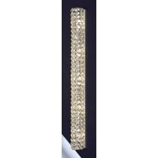 Хрустальное бра Lussole LSL-8701-05 Stintino, 5 ламп, хром, прозрачный хрусталь