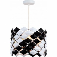 Подвесной светильник Lussole LSP-0180. 3 лампы, черный, белый.