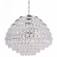 Подвесной светильник Lussole LSP-0181. 3 лампы, хром, прозрачный