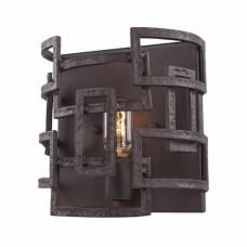 Бра лофт Lussole LSP-9121 Loft, 1 плафон, черный