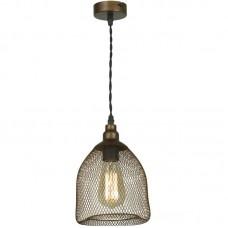 Подвесной светильник лофт Lussole LSP-9646 Loft, 1 плафон, медь