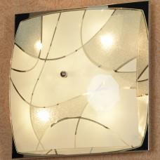 Светильник настенно-потолочный Lussole LSQ-2502-06 Numana, 6 ламп, хром, белый