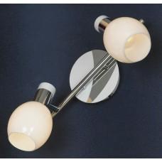 Спот Lussole LSX-5001-02 Parma, 2 плафона, хром с белым