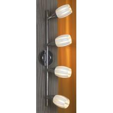 Спот Lussole LSX-6709-04 Brindisi, 4 плафона, хром