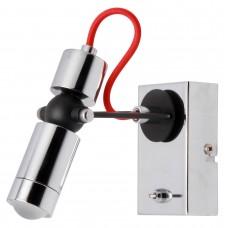 Спот светодиодный Lussole LSP-9923 Rome хром/черный LED 5 Вт 4100К