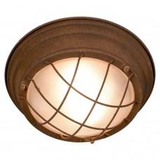 Светильник лофт потолочныйLussole LOFT LSP-8068 (GRLSP-8068) Huntsville коричневый E27 60 Вт