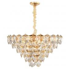 Хрустальная лампа LGO LSP-8184 (GRLSP-8184) Yuma блестящее золото E14 40 Вт