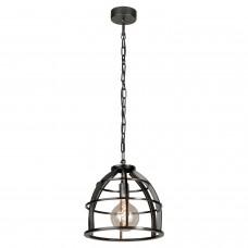 Светильник подвесной лофт Lussole LOFT LSP-8065 (GRLSP-8065) Matanuska черный E27 60 Вт
