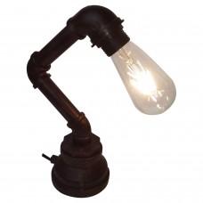 Настольная лампа лофт Lussole LOFT LSP-9985 Thornton коричневый E27 60 Вт