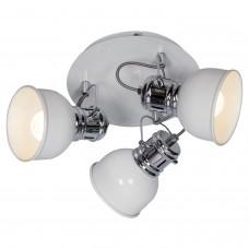 Спот LGO LSP-9956 (GRLSP-9956) Carrizo белый/хром E14 40 Вт