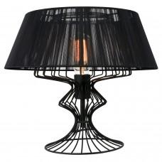Настольная лампа Lussole LSP-0526 (GRLSP-0526) Cameron черный E27 60 Вт