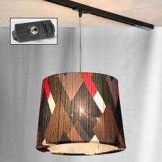 Светильник для шинопровода LGO LSP-9991-TAB Athens хром E27 60 Вт