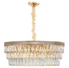 Хрустальная лампа LGO LSP-8183 (GRLSP-8183) Yuma блестящее золото E14 40 Вт
