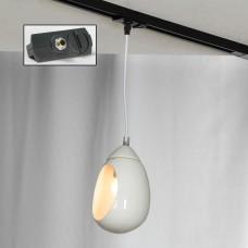 Подвесной светильник Lussole LSP-8034-TAB Tanaina белый E27 60 Вт