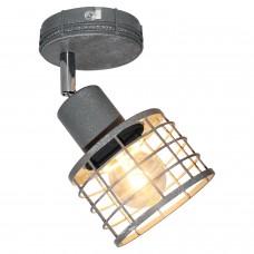 Спот лофт Lussole LOFT LSP-9968 (GRLSP-9968) Greeley серый E27 60 Вт