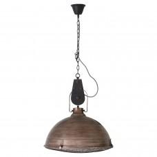 Светильник подвесной лофт Lussole LOFT LSP-8028 (GRLSP-8028) Northport коричневый E27 60 Вт