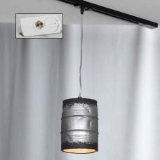 Светильник подвесной лофт Lussole LOFT LSP-9526-TAW Northport никель E27 60 Вт