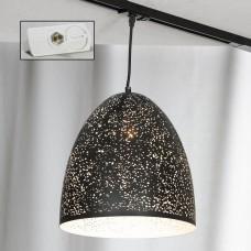 Светильник для шинопровода Lussole LSP-9892-TAW Port Chester черный E27 60 Вт