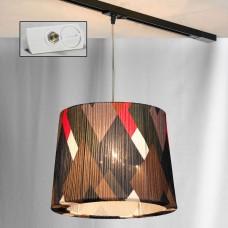 Светильник для шинопровода LGO LSP-9991-TAW Athens хром E27 60 Вт