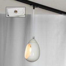 Подвесной светильник Lussole LSP-8034-TAW Tanaina белый E27 60 Вт